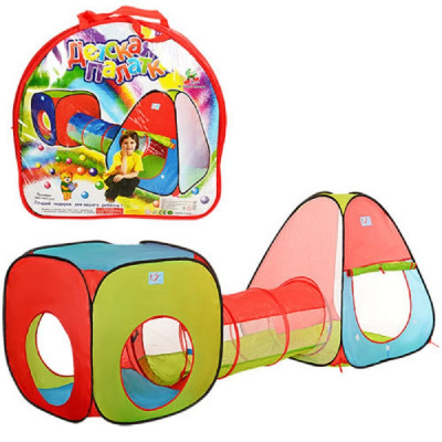 Детская игровая палатка с тоннелем 230х78х91см (M 2958)