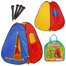 Детская игровая палатка Bambi Пирамида M0053