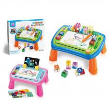 Игровой столик 2 цвета, магнитная доска для рисования