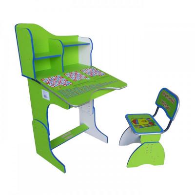 Детская парта со стульчиком Веселой учебы (E2071 Green)