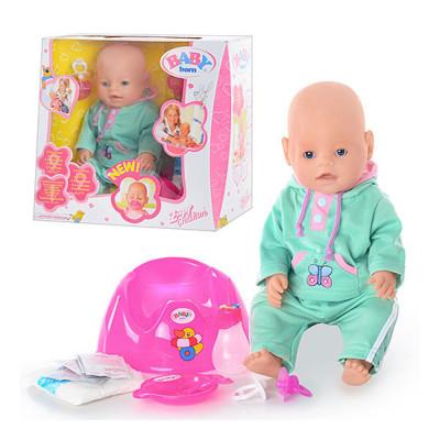 Интерактивная кукла пупс с аксессуарами (8001A)