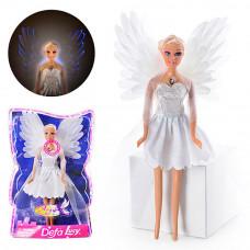 "Кукла Defa 8219 ""Ангел"", свет, в коробке, 27 см, на батарейках"