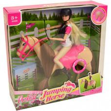Кукла шарнирная Anlily с лошадкой