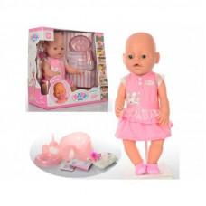 Кукла пупс Беби Борн с аксессуарами BB 8009-439