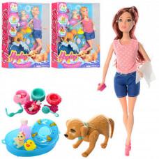 Кукла шарнирная Hayley с собачкой, аксессуары