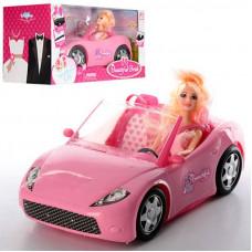 Кукла с машинкой кабриолет K877-30D