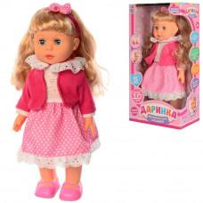 Кукла Даринка M 3882-2 UA ходит, говорит на укр. языке