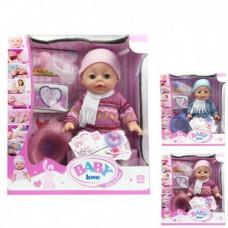 Пупс кукла Беби Борн YL1712B Маленькая Ляля новорожденный с аксессуарами
