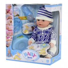 Пупс функциональный Беби Baby с аксессуарами - 8 функций (ВL 013 D)