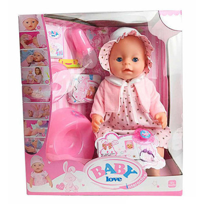 Кукла Пупс Маленькая Ляля с аксессуарами (023F)