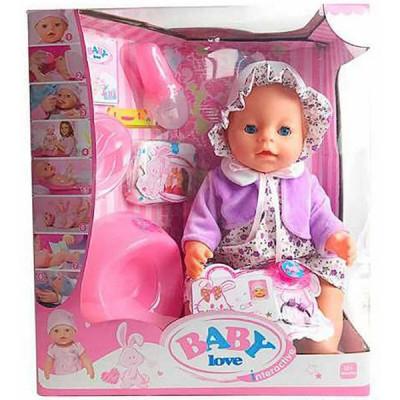 Кукла Кукла Пупс Маленькая Ляля с аксессуарами (023Q)