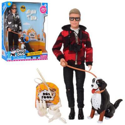 Кукла Кен с интерактивной собакой - Defa Lucy