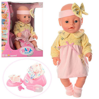 Кукла-пупс Baby Love BL 020 К