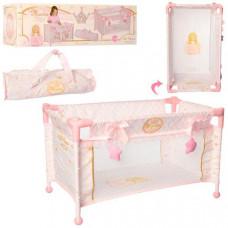 Манеж для куклы DeCuevas Мария (Розовый)