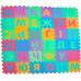 """Детский напольный коврик-пазл """"Алфавит"""" Украинский EVA 36 элементов (0379)"""