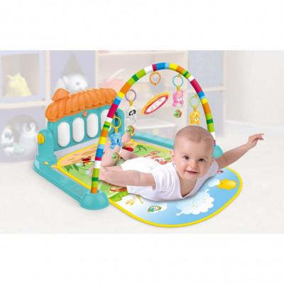 Развивающий коврик для младенцев Baby Play (0639)