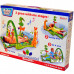 Развивающий музыкальный коврик Baby Gift Тропический лес с дугой + подвесные игрушки (3059)