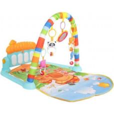 Дитячий розвиваючий ігровий килимок, музичний, Limo Toy, 72x47 см, М 5469