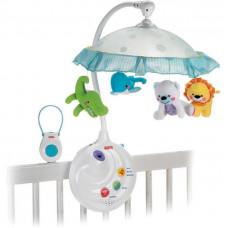 Мобиль с проектором и подвесными игрушками Joy Toy 7180
