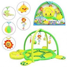 Детский развивающий коврик Черепашка 898-12 B/0228-1 R