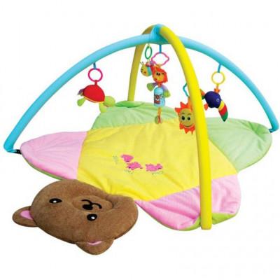 """Игровой развивающий коврик для младенцев """"Медвежонок"""", в сумке (898-8 В)"""
