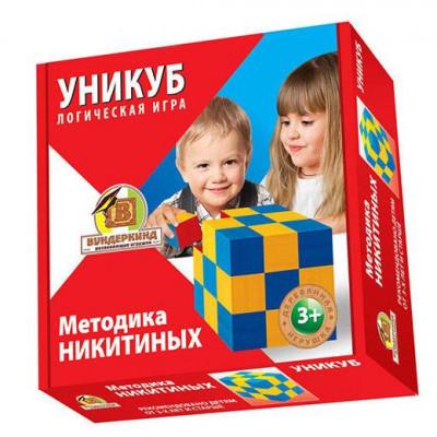 Уникуб Методика Никитиных Деревянные кубики Бук Вундеркинд (К-002)