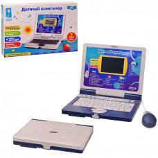 Детский обучающий игровой ноутбук, русско-английский-украинский, pl-720-80