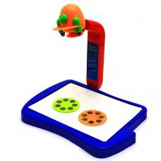 Детский проектор для рисования, слайды 21 картинка +12 фломастеров