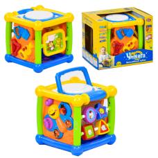 """Ігровий центр """"Умняга"""" чарівний куб, Play Smart, куб-логіка, російською мовою, музика, світло"""