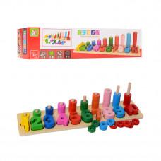 Деревянная игрушка Геометрика MD 1268