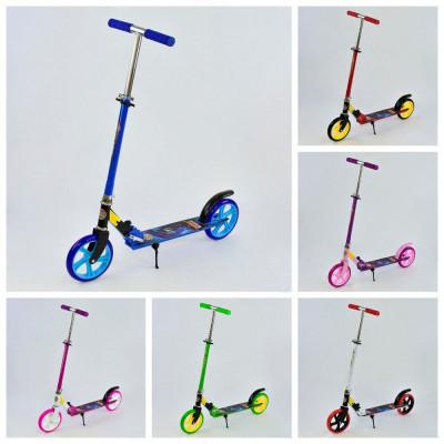 Двухколесный самокат Best Scooter колеса PU, d=20см, грипсы резина (00015)