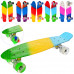 Скейт Penny board (Пенни борд) 56.5х15см разные цвета (MS 0746-1)