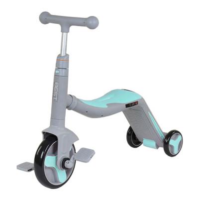 Самокат 3в1 Best Scooter - самокат-велобег-велосипед, свет, 8 мелодий (JT 10181)