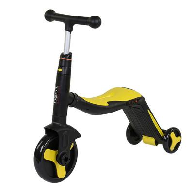 Самокат 3в1 Best Scooter - самокат-велобег-велосипед, свет, 8 мелодий (JT 10993)
