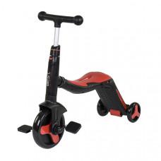 Самокат 3в1 Best Scooter - самокат-велобег-велосипед, свет, 8 мелодий (JT 28288)
