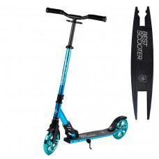 """Самокат двухколесный """"Best Scooter"""", амортизатор. колеса PU 180 мм, до 100 кг, 30688"""