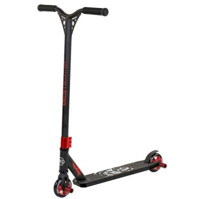 Самокат трюковый Best Scooter HIC-система - Черный с красным