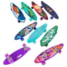 Скейт Пенни борд Best Board (6 видов, C 40310)