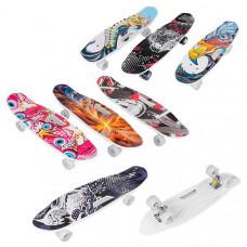 Скейт Пенни борд Best Board (7 видов, C 40311)