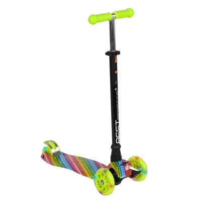 Самокат Best Scooter Maxi Graffiti (Зеленый)