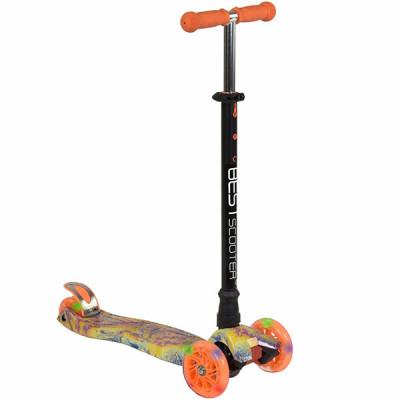 Самокат Best Scooter Maxi Graffiti (Оранжевый)
