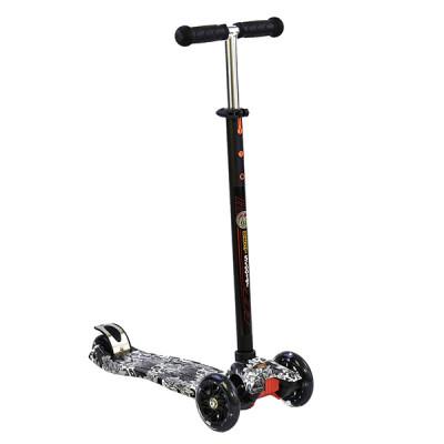 Самокат Best Scooter Maxi Graffiti (Черный)