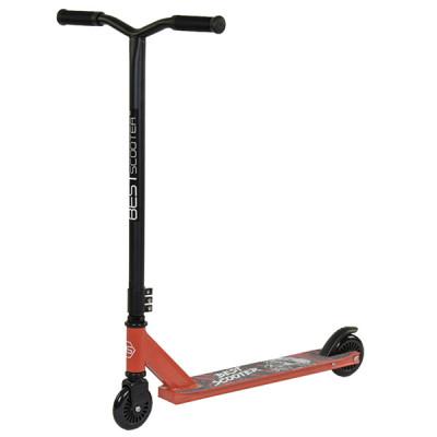 Самокат трюковый металлический Best Scooter Оранжевый