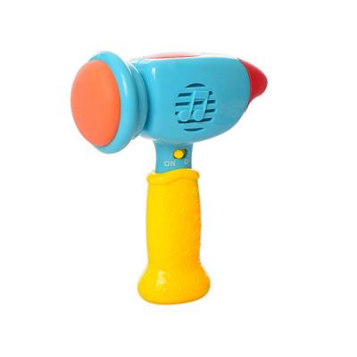 Музыкальный молоточек Limo Toy свет, музыка, песенка и фразы на русском языке (М 0285)
