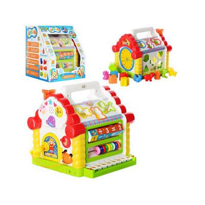 Развивающая игрушка Теремок-сортер Joy Toy со звуковыми и световыми эффектами (9196)