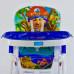 Детский стульчик для кормления JOY Синий (J 1750)