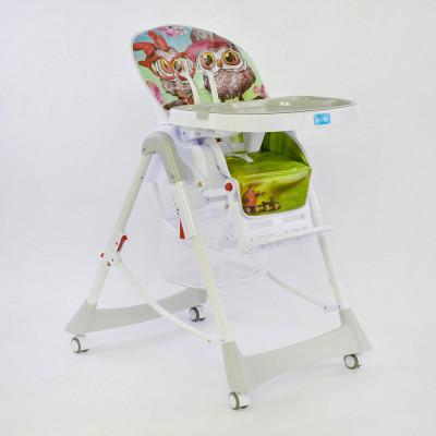 Детский стульчик для кормления JOY Серый (J 2050)