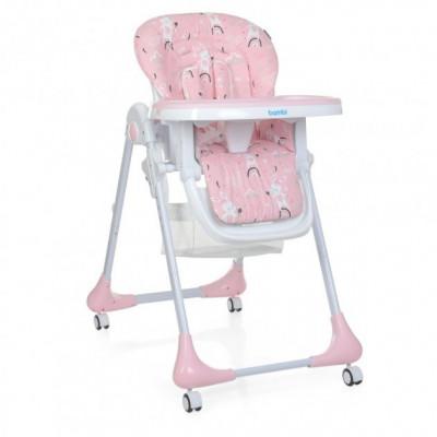 Стульчик трансформер для кормления Bambi M Rabbit Girl Pink (3233)