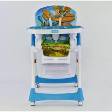 Стульчик для кормления JOY J 7600 Голубой