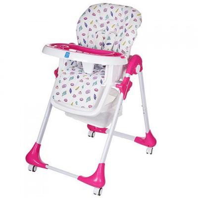 Детский стульчик для кормления Bambi Розовый (M 3233-1)